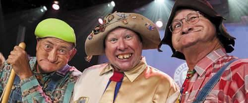 Baldknobbers Jamboree Show, comedy