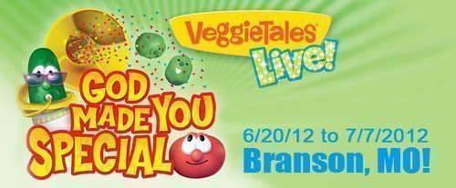 Veggie Tales, live