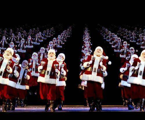Radio City Rockettes Santa's Dancing