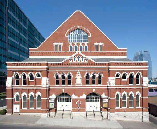 Ryman Auditorium Tours, building
