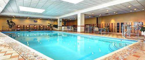 Hilton Salt Lake City Center Indoor Pool