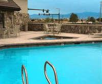 Outdoor Pool at Radisson Salt Lake City Arprt