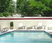 Outdoor Pool at Salt Lake Plaza Hotel at Temple Square