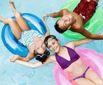 Outdoor Pool at Magnolia Bay Hotel & Suites