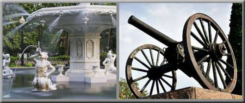 Saunter in Savannah Walking Tour, historical sites