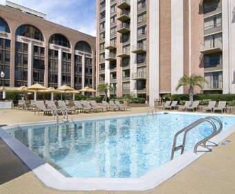 Outdoor Pool at Hilton Savannah DeSoto