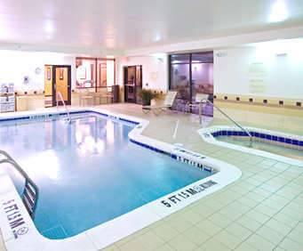 SpringHill Suites by Marriott Savannah Airport Indoor Swimming Pool