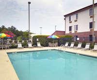 Outdoor Pool at Red Roof Inn & Suites Savannah Airport