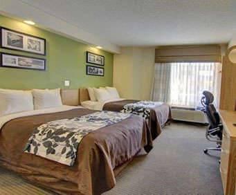 Sleep Inn at Six Flags Room Photos