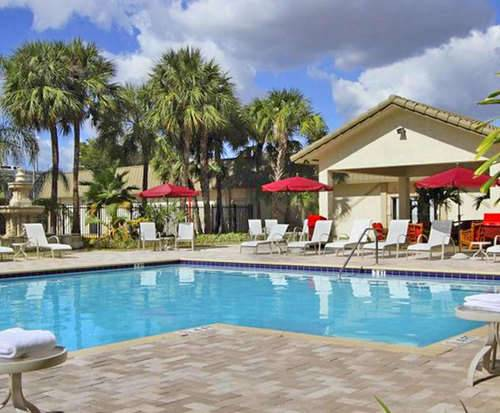 Outdoor Pool at Ramada Inn Miami Airport North - Hialeah