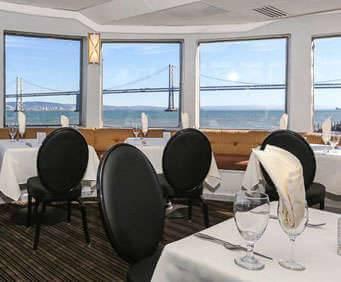 Hornblower Cruises, Ship Dining Room