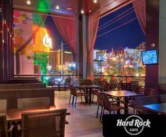 Hard Rock Cafe - Las Vegas, NV, great view
