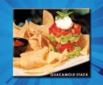 Planet Hollywood Guacamole Stack