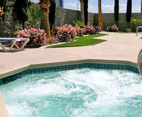 Outdoor Swimming Pool of Clarion Hotel and Casino Near Las Vegas Strip