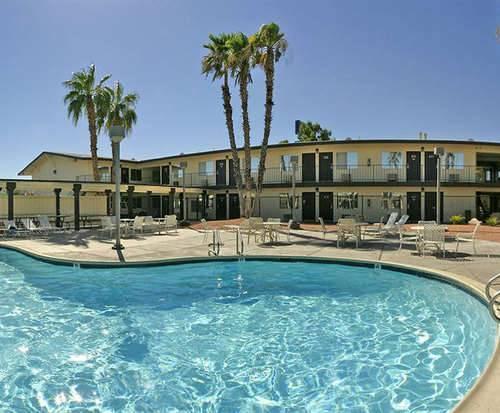 Outdoor Pool at Days Inn Wild Wild West Hotel