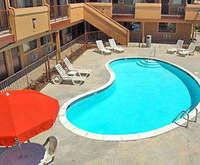 Outdoor Pool at Rodeway Inn Santee
