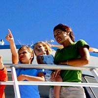 Glass Bottom Boat Sunset Cruise, family activity