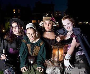 Ghost & Gravestones Night Tour - St. Augustine, FL, reenactment