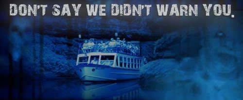Ghost Boat Wisconsin Dells Boat Tour, spooky