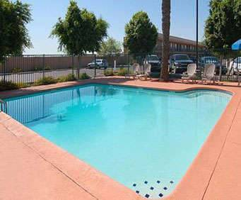 Outdoor Pool at Econo Lodge Airport