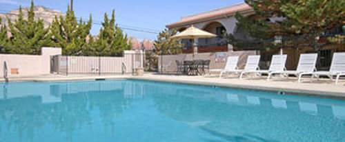 Outdoor Pool at Days Inn Sedona