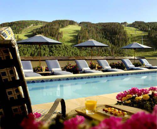 Outdoor Pool at The Arrabelle at Vail Square, A RockResort