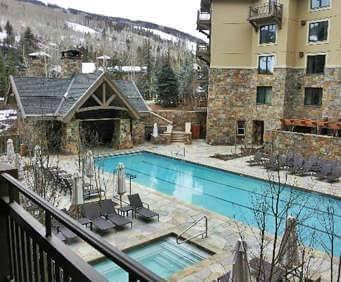 Outdoor Pool at Four Seasons Resort Vail