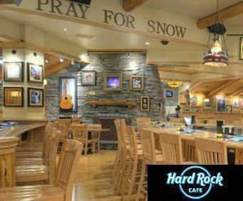 Hard Rock Cafe - Lake Tahoe, interior