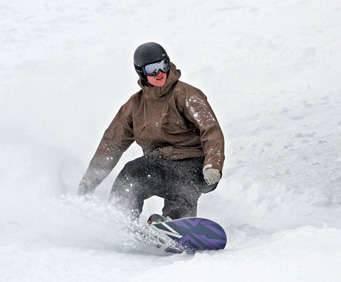 Ski Tahoe Interchangeable Booklet, snowboarding