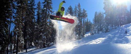 Northstar at Tahoe Ski Lift Tickets - Skier in Air