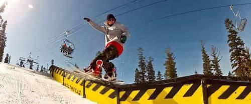 Northstar - Ski Tahoe North, snowboarding