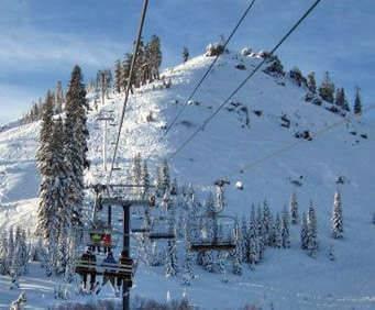 Sugar Bowl - Ski Tahoe North: Ski Lift