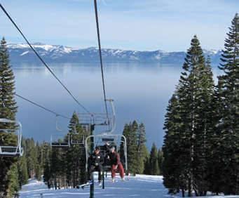 Homewood - Ski Tahoe North, lift