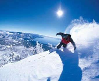 Diamond Peak - Ski Tahoe North, skiing