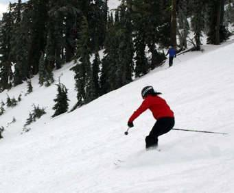 Alpine Meadows - Ski Tahoe North, skiing