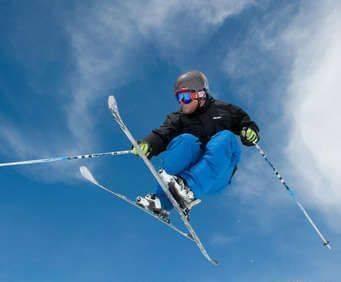 Ski Tahoe North Interchangeable Lift Ticket - Ski Tahoe North, ski jump