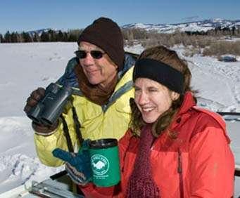Grand Teton National Park Sunset Wildlife Expedition: Couple Enjoying View