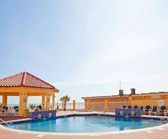 Outdoor Swimming Pool of La Quinta Inn & Suites South Padre Beach