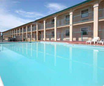 Outdoor Swimming Pool of Rodeway Inn Galveston