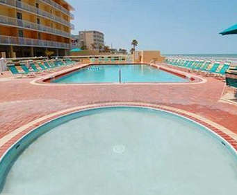 Outdoor Pool at Comfort Inn & Suites Daytona Beach, FL