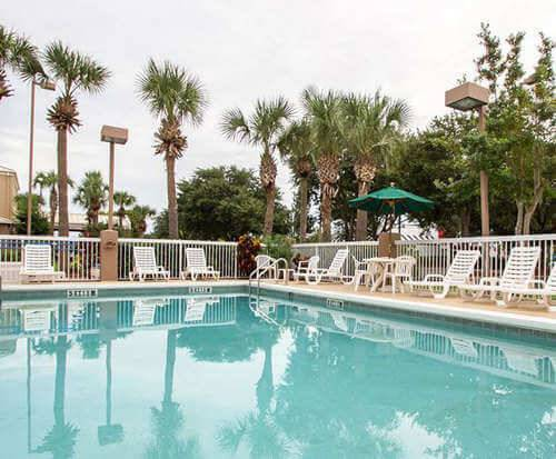 Outdoor Pool at Sleep Inn Ormond Beach