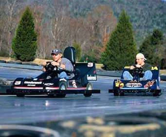 Raccoon Mountain Caverns Go-Karts