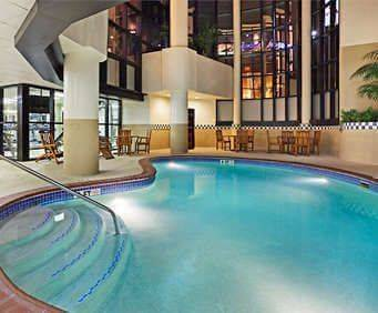 Chattanooga Marriott at the Convention Center Indoor Swimming Pool