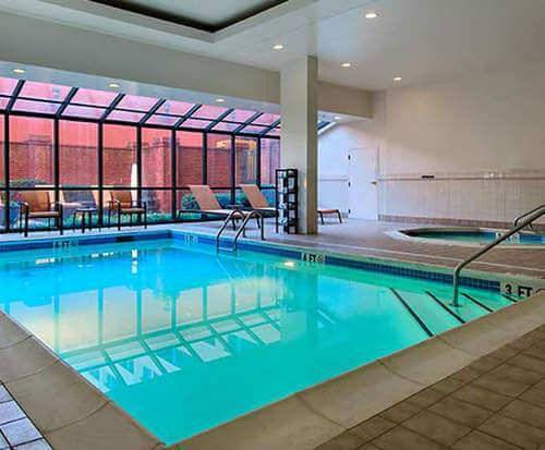 Courtyard by Marriott Chattanooga Downtown Indoor Pool
