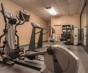Fitness Center at Comfort Inn Downtown Lookout Mountain