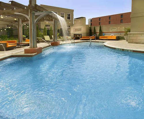 Outdoor Pool at Hampton Inn & Suites Chattanooga/Downtown