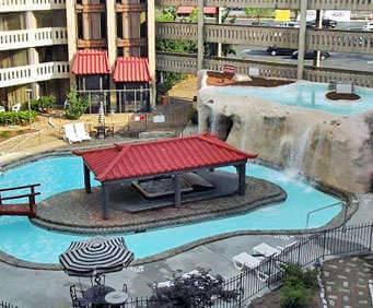Outdoor Swimming Pool of Chattanooga Choo Choo -Chattanooga TN