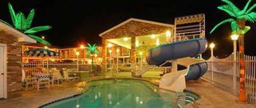 Outdoor Pool at Rodeway Inn & Suites Landmark Inn