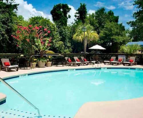 Outdoor Pool at Hampton Inn Hilton Head SC