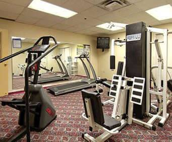 Fitness Center at Comfort Inn Downtown Cleveland